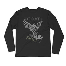 Load image into Gallery viewer, GOAT Skills Track Legend Begins Long Sleeve Fitted Crew