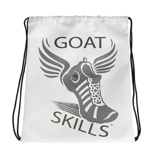 GOAT Skills Track Legend Begins Drawstring bag Gray Fade