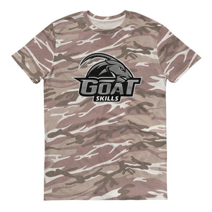 GOAT Skills Classic Lit Camo Short-sleeved camouflage t-shirt