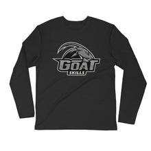 Load image into Gallery viewer, GOAT Skills Classic Lit Long Sleeve Fitted Crew