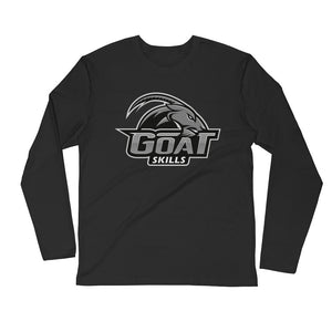 GOAT Skills Classic Lit Long Sleeve Fitted Crew