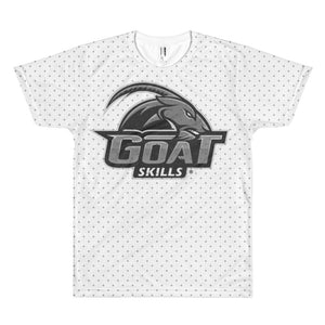 GOAT Skills All Over Crosses Athleisure Short sleeve Men's T-shirt