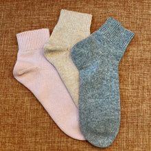 Load image into Gallery viewer, 100% Cashmere Bed Socks