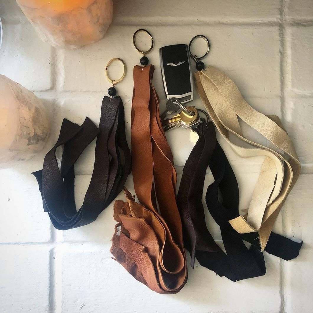 Earthyluxe Leather Keychains