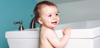 How to get your toddler to love baths