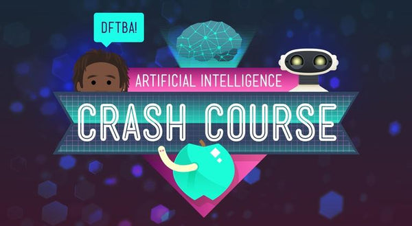 "title ""Crash Course"" on a dark blue background"