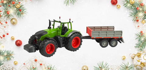 tractor with trailer rc toy