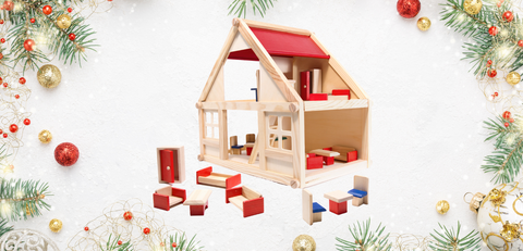 montessori wooden house