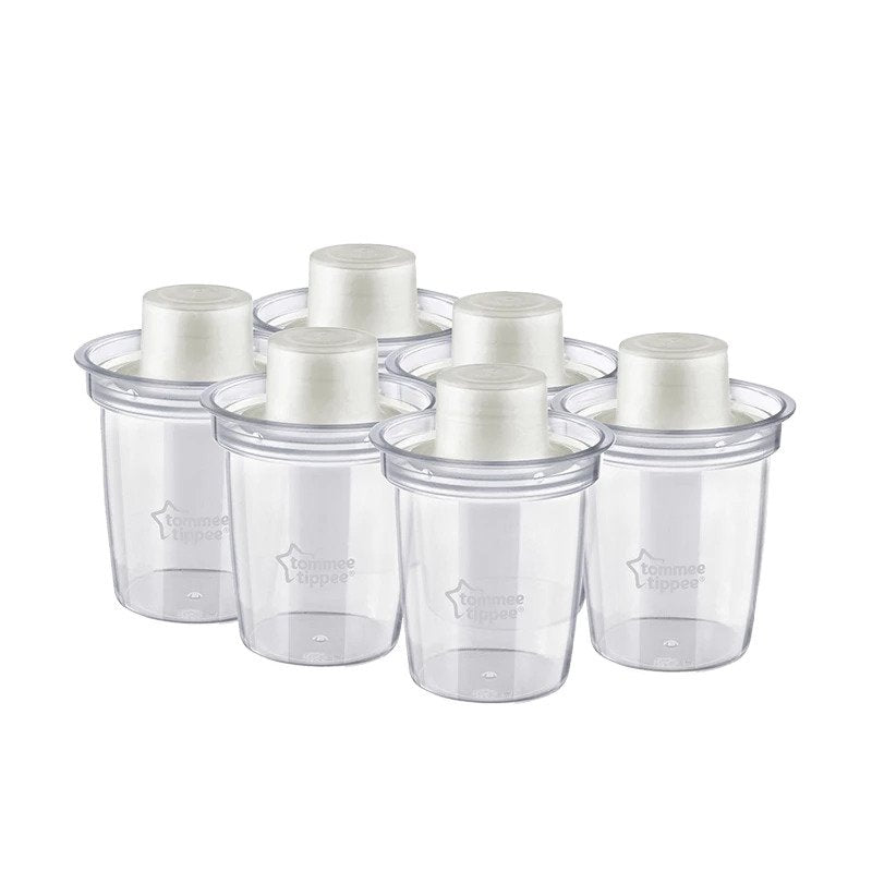 Tommee Tippee Milk Powder Dispensers 6 Pack