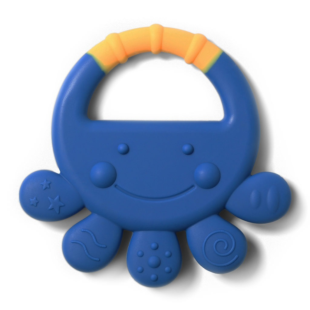 Babyono Octopus Silicone Baby Teether