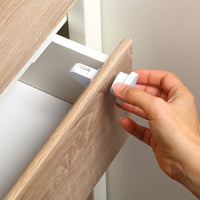 Magnetic Drawer Safety Latches 4 pc