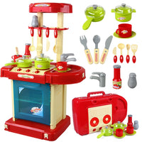 Little Chef Toys - Suitcase Set - Red