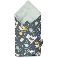 Sensillo Boho Baby Swaddle - Bears