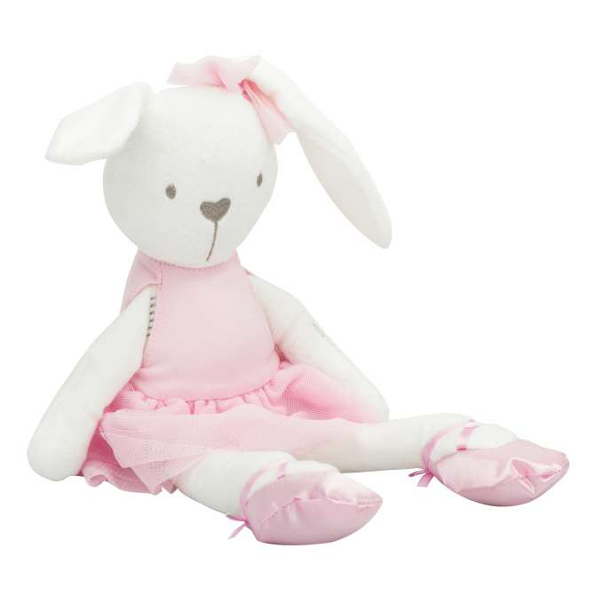 Soft Bunny In A Pink Dress 42 cm