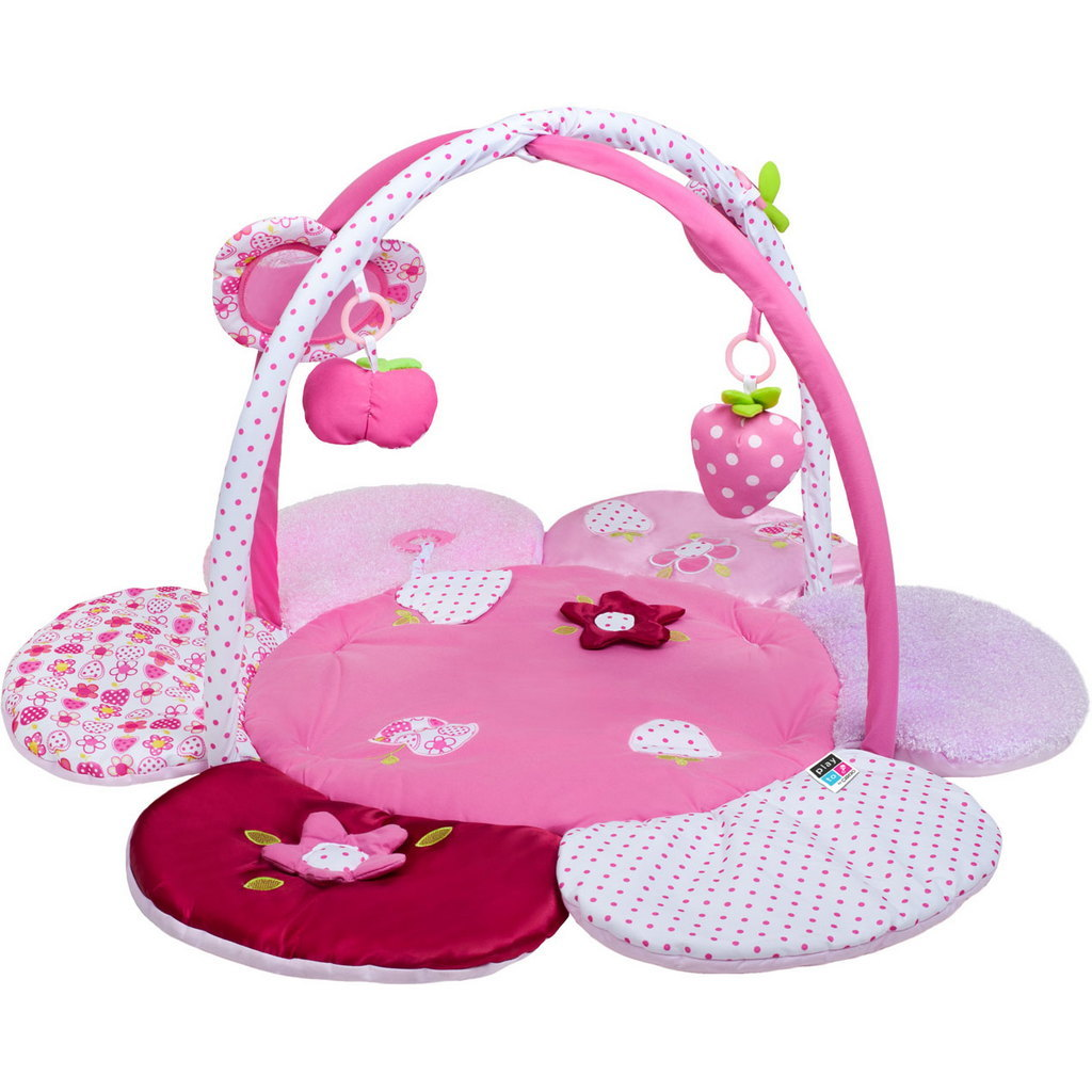 NEW! Playto Best Baby Gym Playmat - Flower