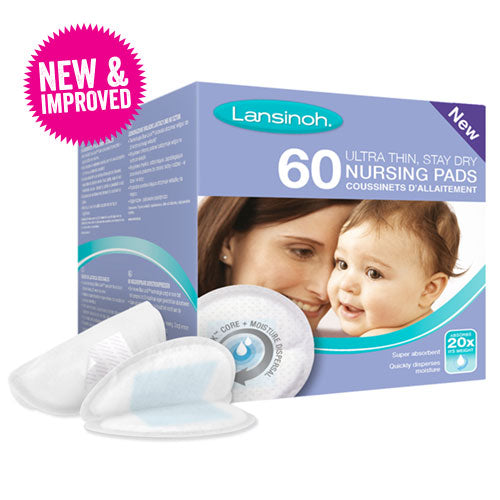 Lansinoh Disposable Nursing Pads with Blue Lock™ Core  - 60 pcs