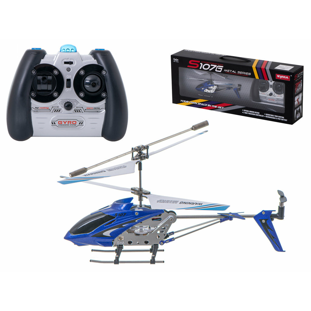 Helicopter RC SYMA S107G - Blue