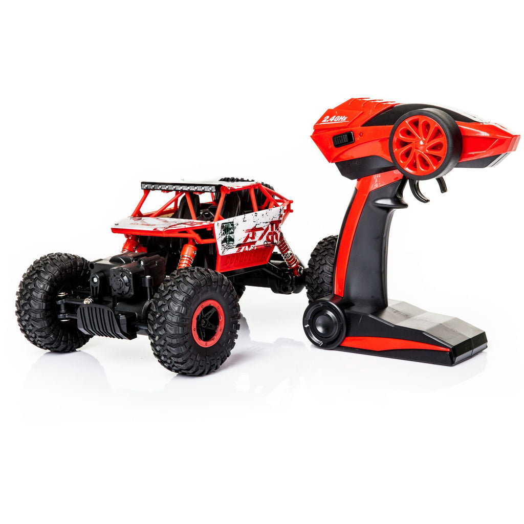 Red RC Rock Crawler HB 2,4GHz 1:18