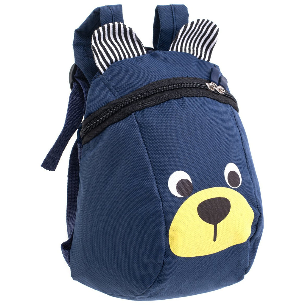 Toddler Backpack Teddy - Navy