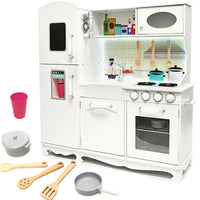 XXL Wooden Kitchen 103 cm - White