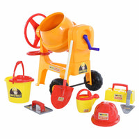 WADER Giant Toy Concrete Mixer + Accessories