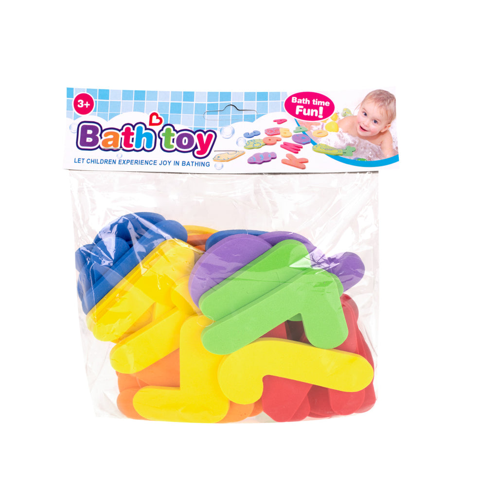 Foam Letters & Numbers - Bath Toy