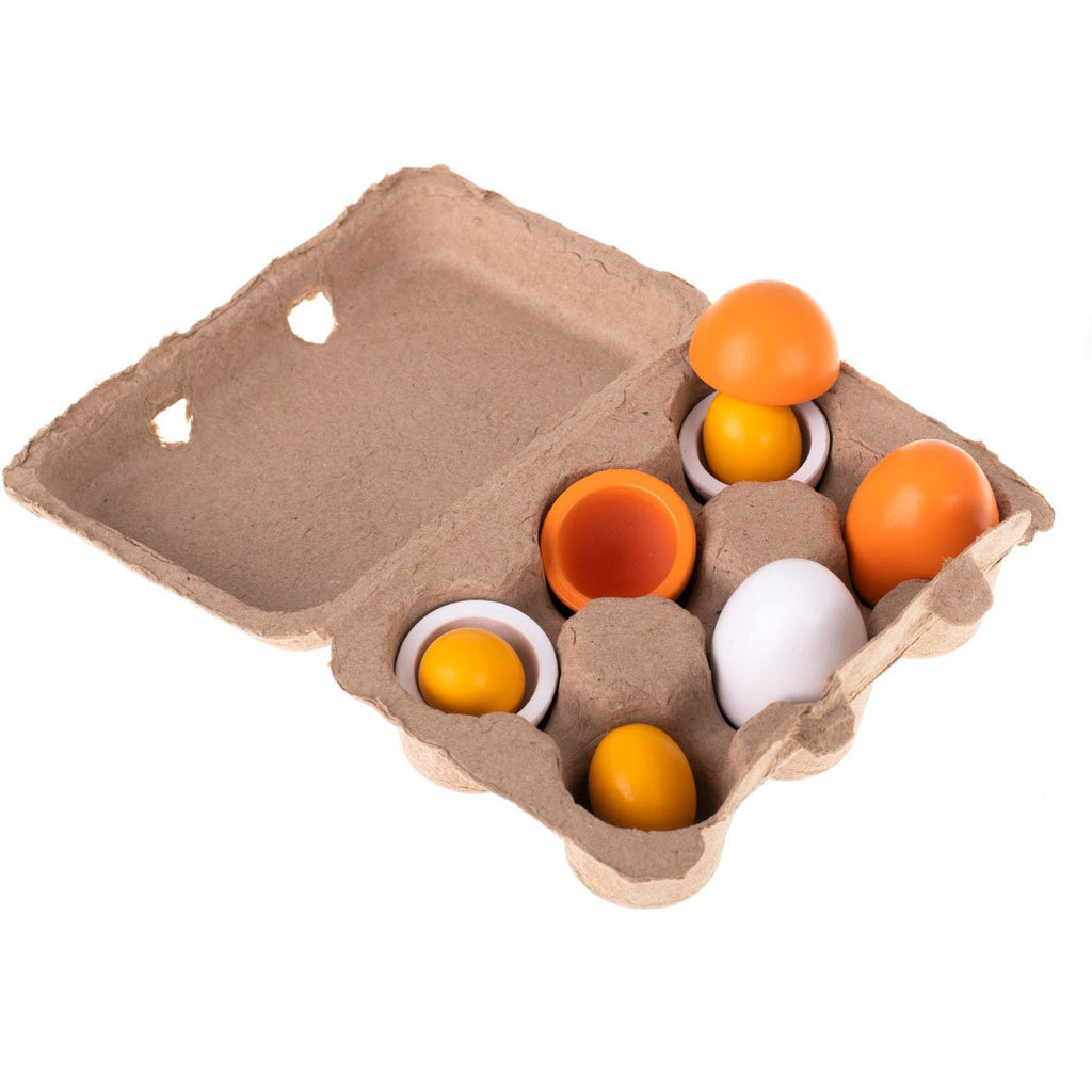 Wooden Eggs - Montessori Style Toy