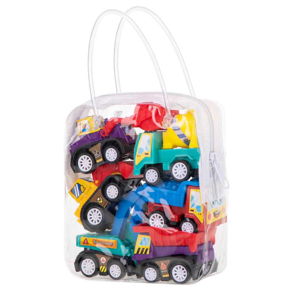 Construction Car Set - 6 pcs