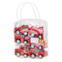 Fire Trucks - Car Set - 6 pcs