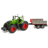 RC Tractor With a Trailer