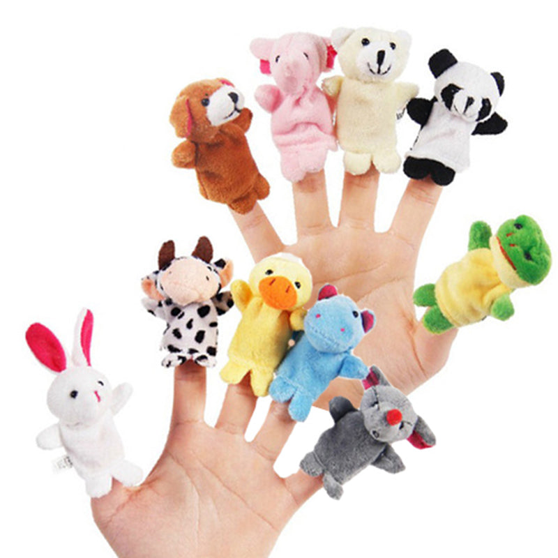 Finger puppets - Animals 10 pcs