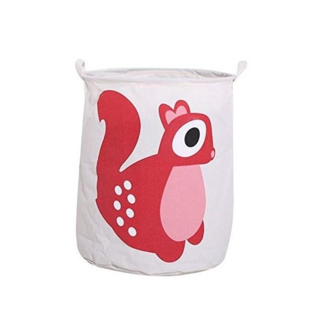 Toy storage bin - Squirrel