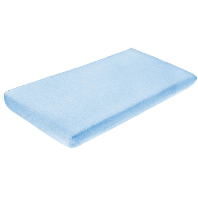 Sensillo Classic Terry cloth bedsheet - blue