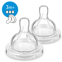 Philips Avent Anti-colic teat 2 pcs, Medium-flow teat, 3m+