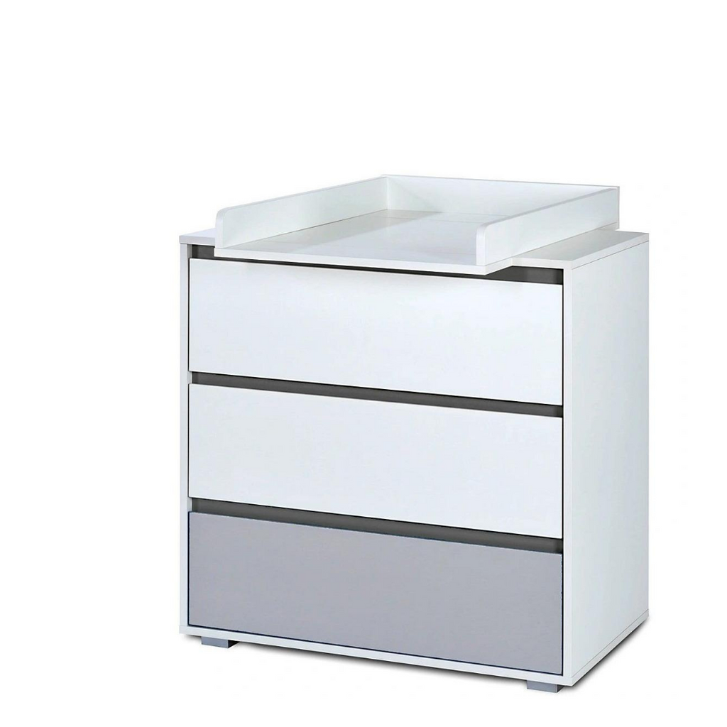 Dalia chest of drawers & changer - Grey