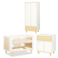 Lydia Set (Baby Cot 120x60 + Chest of drawers with a changer + Wardrobe)