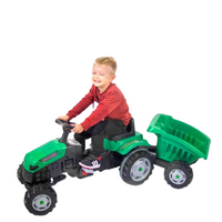 WOOPIE MAXI Tractor With Trailer - Green