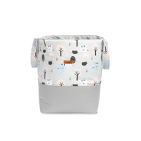 Sensillo Storage Bin - Grey Deers