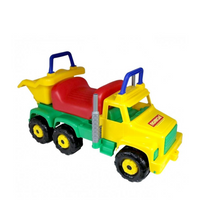 WADER  Giant Tipper Truck Ride-On Toy - Green