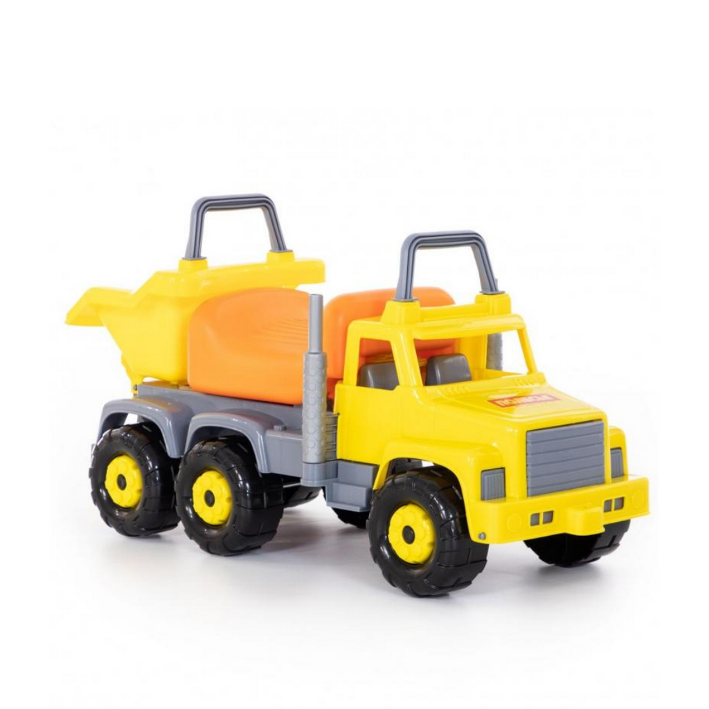 WADER Giant Tipper Truck Ride-On Toy - Yellow