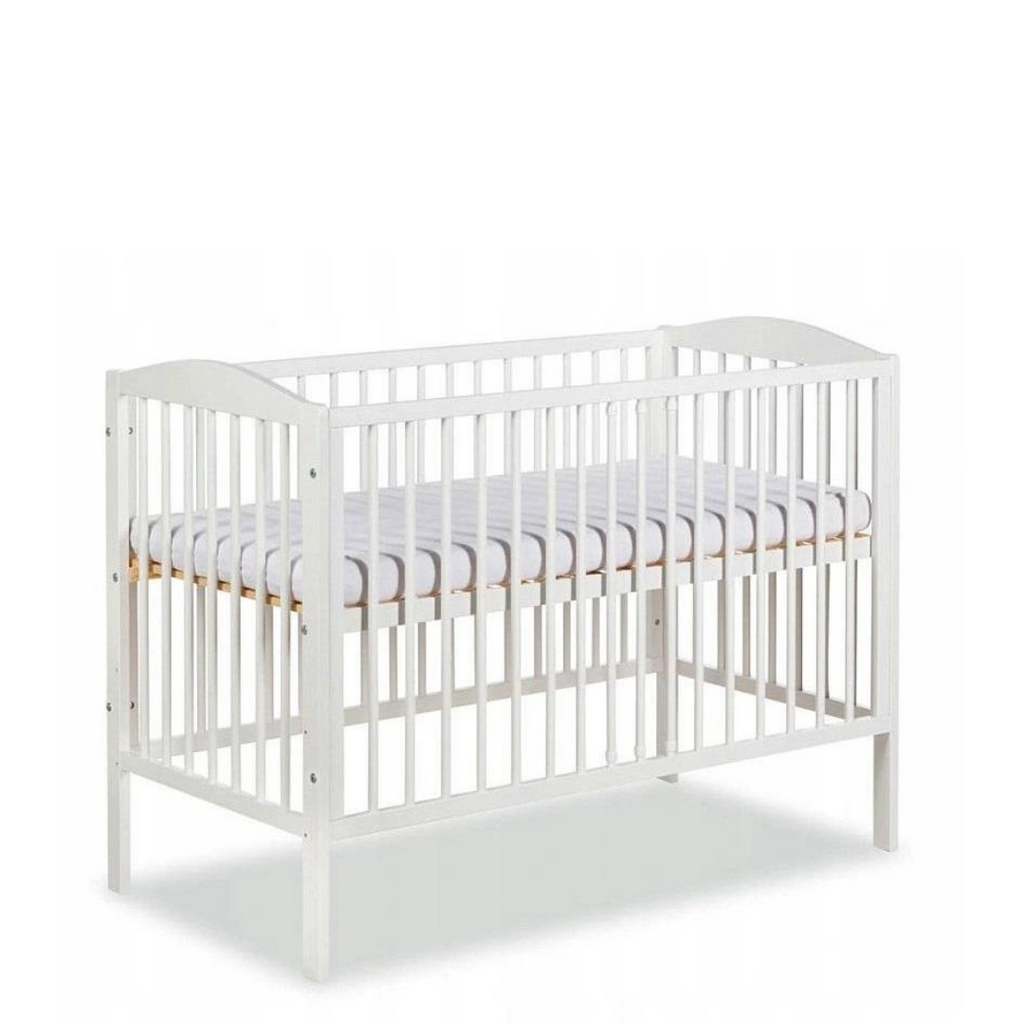 Henry Baby Cot - White