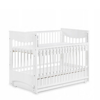 Luna Cradle Baby Cot with drawer