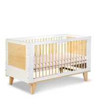 Lydia Cot bed convertible into a toddler bed 140x70
