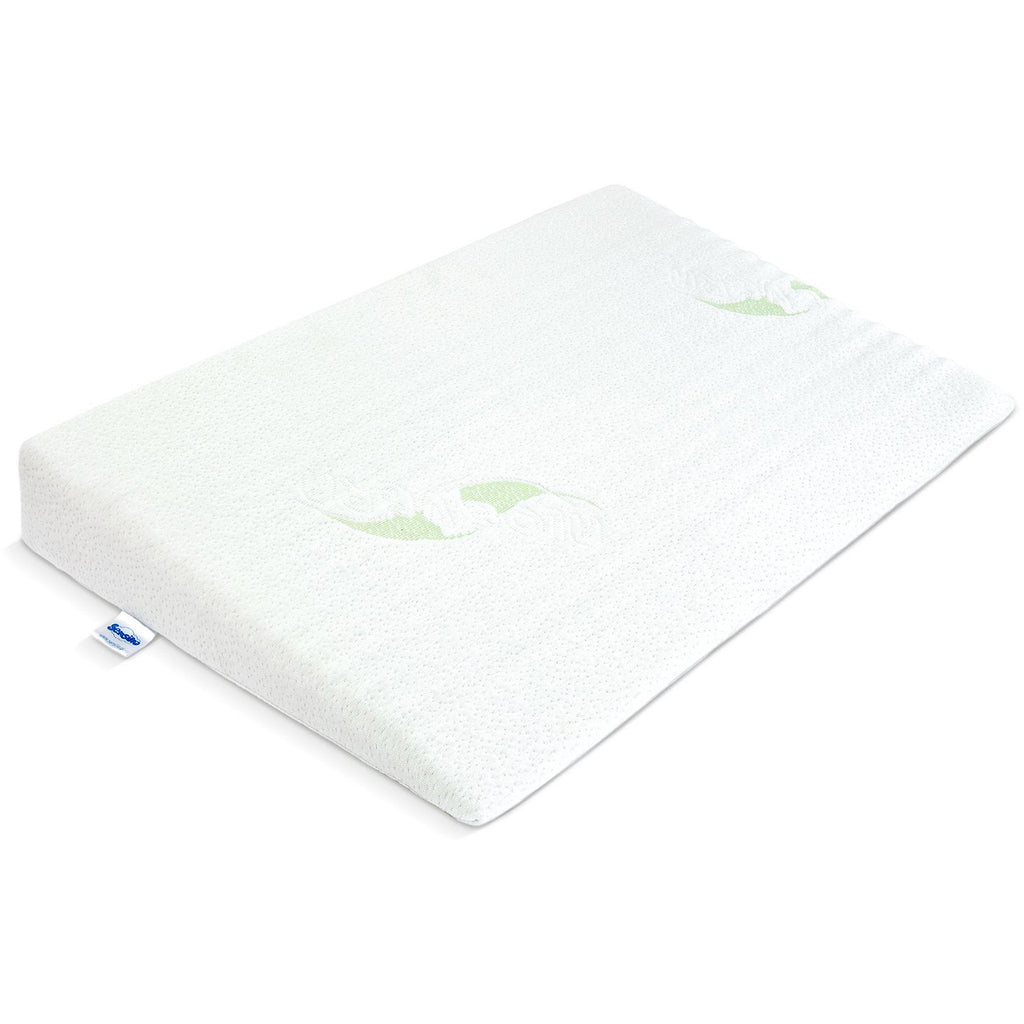 Sensillo Deluxe Aloe Vera Anti-reflux Crib Wedge Pillow 38X60