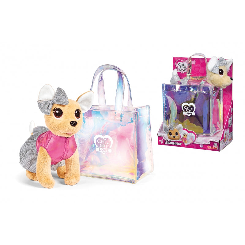 SIMBA Chi Chi Love Puppy In A Shimmer Bag