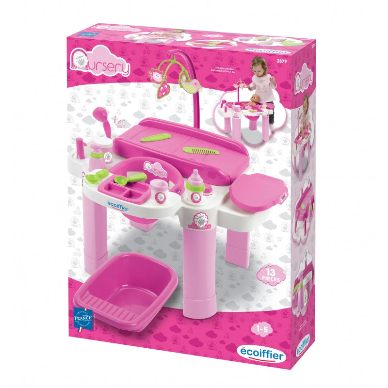 Ecoiffier Nursery Babysitter Set For Dolls