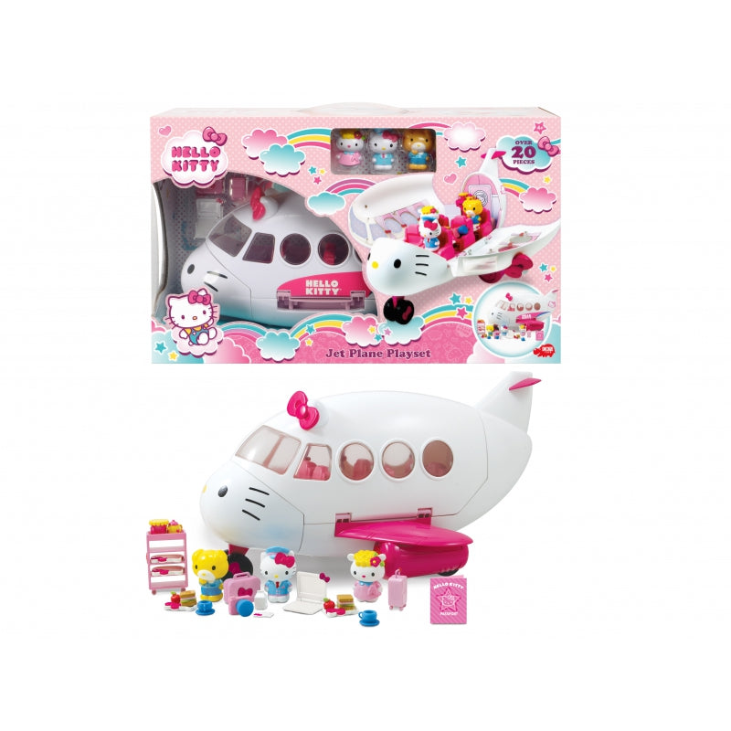 DICKIE Hello Kitty Jet Playset