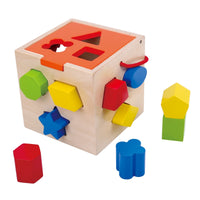 TOOKY TOY Wooden Shapes Sorter