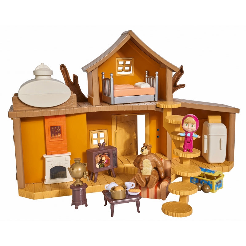 Simba Masha & Bear Two-storey House Playset
