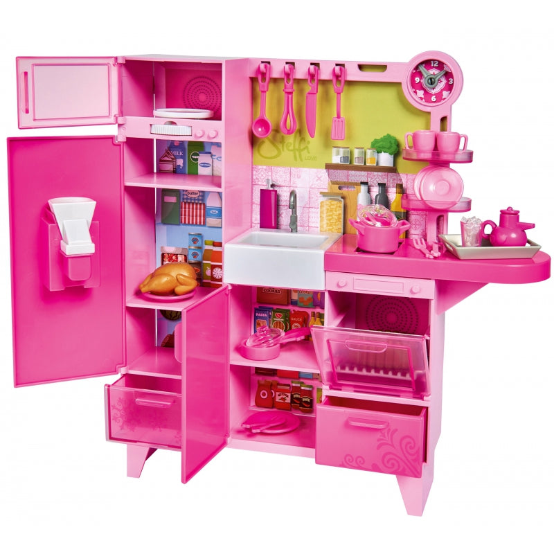 SIMBA Steffi Doll Kitchen Playset
